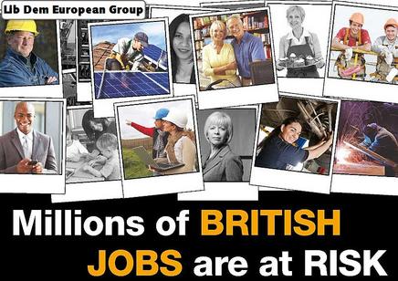 Millions of jobs outside of the EU (Liberal Democrats, UK)