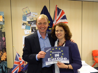 Dr.Kirsten Johnston & Liberal Democrat leader Tim Farron-September 2015