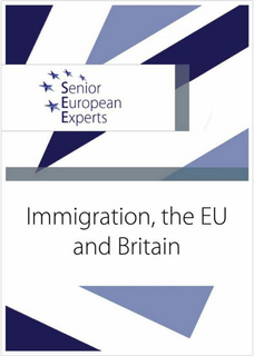 Front cover of briefing on migration (Senior European Experts)