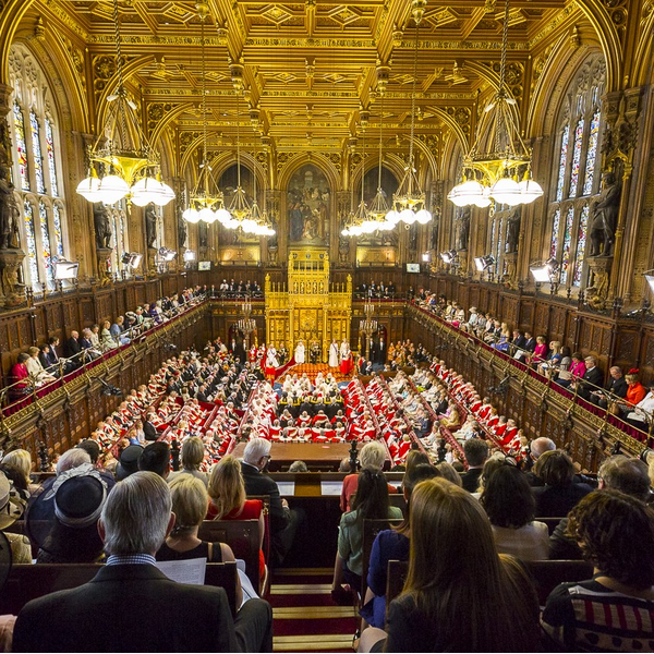 House of Lords / State Opening of Parliament 2015 (Copyright House of Lords 2015 / Photography by Roger Harris. This image is subject to parliamentary copyright. www.parliament.uk)